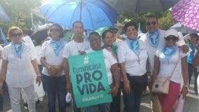La Iglesia Católica realiza manifestación contra el aborto