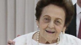 Mary Pérez de Marranzini, presidente de la asociación.