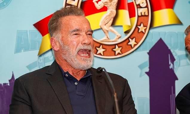 Arnold Schwarzenegger. Foto de archivo