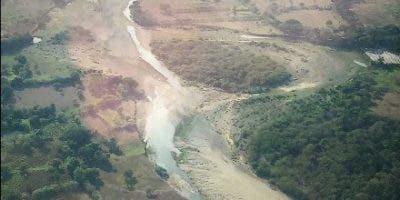 Vista érea del río Bajabonico