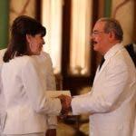 La Embajadora de los Estados Unidos para la República Dominicana, Robin Bernstein, presentó hoy sus credenciales al Presidente Danilo Medina.