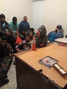 Las 14 personas habrían salido desde Sabana de La Mar, Hato Mayor, donde actualmente se encuentran detenidos para ser procesados ante la justicia.