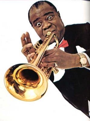 Louis Armstrong, tesoro cultural del sur norteamericano.