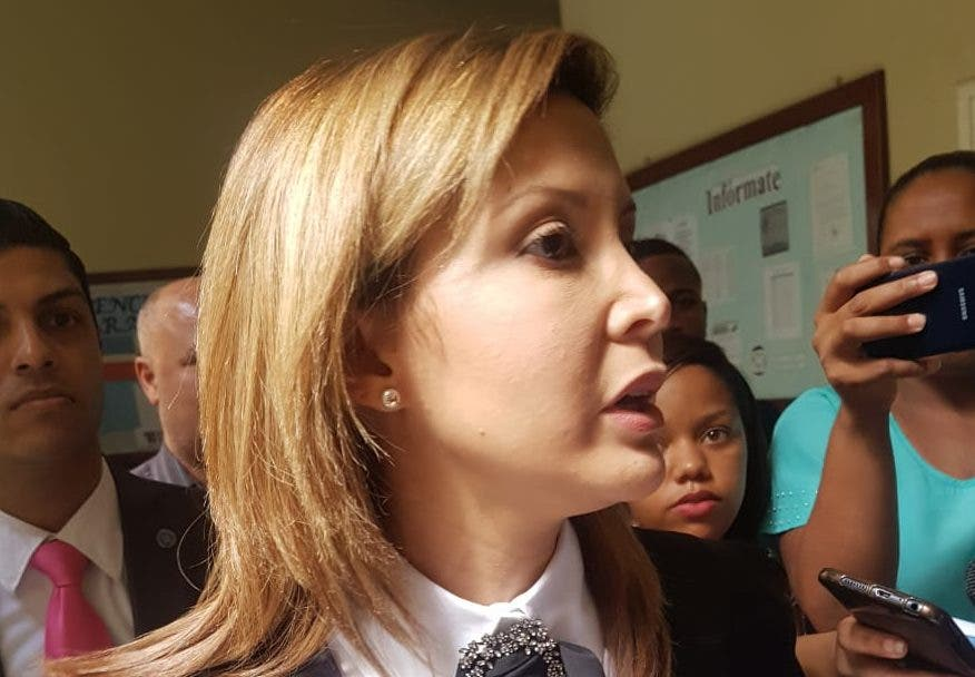 Rosalba Ramos, fiscal del Distrito Nacional.