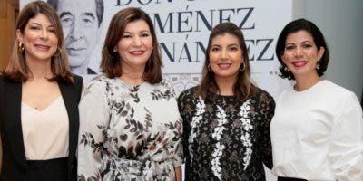 Alicia Jiménez, Cesilia Jiménez, Cesarina Jiménez y Gina Jiménez.