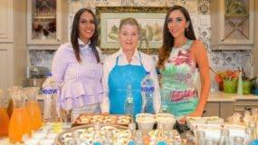 Érika Santos, Dana Guttmann y Lorena Gutiérrez.