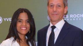 Marlene Mejía y Olivier Pellin.