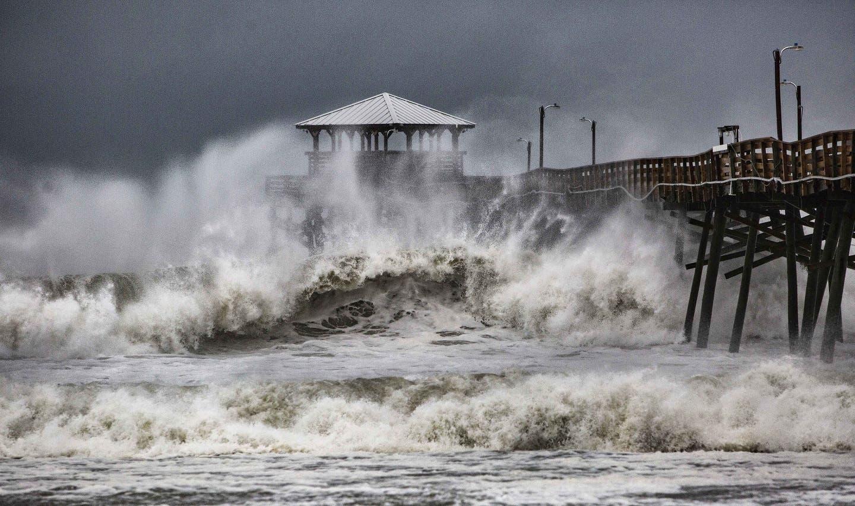 La llegada de Florence desborda ríos y anega viviendas en el sureste de EEUU