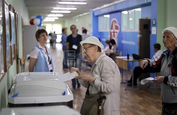 Rusia elige a 22 gobernadores y varios alcaldes, incluido al de Moscú