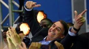Unas 3.000 personas asistieron al acto de lanzamiento de la candidatura de Jair Bolsonaro.