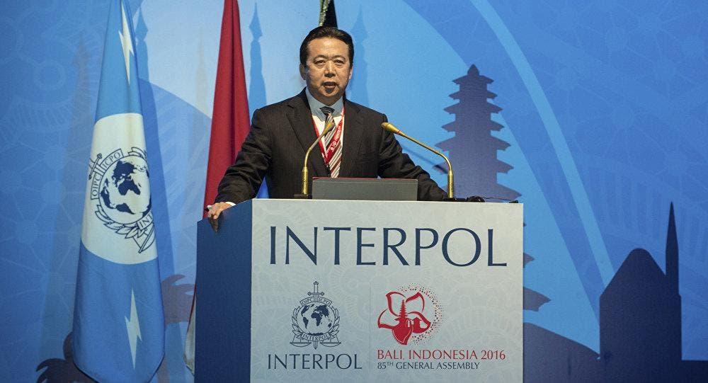 Desaparece el presidente de Interpol durante viaje a China