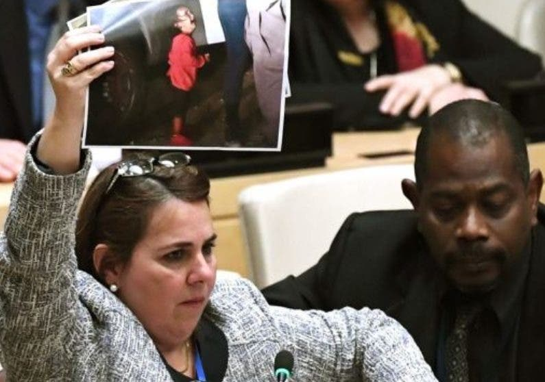 Los diplomáticos cubanos protestaron enérgicamente.