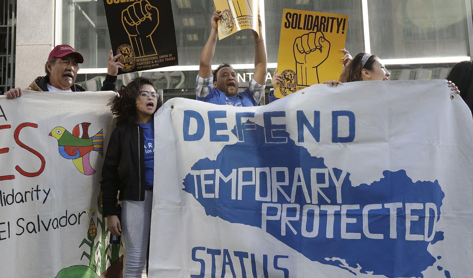 El Gobierno de EE.UU. extiende el TPS a Honduras, El Salvador y Nicaragua