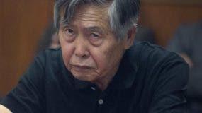 Alberto Fujimori se encuentra ingresado en una clínica.