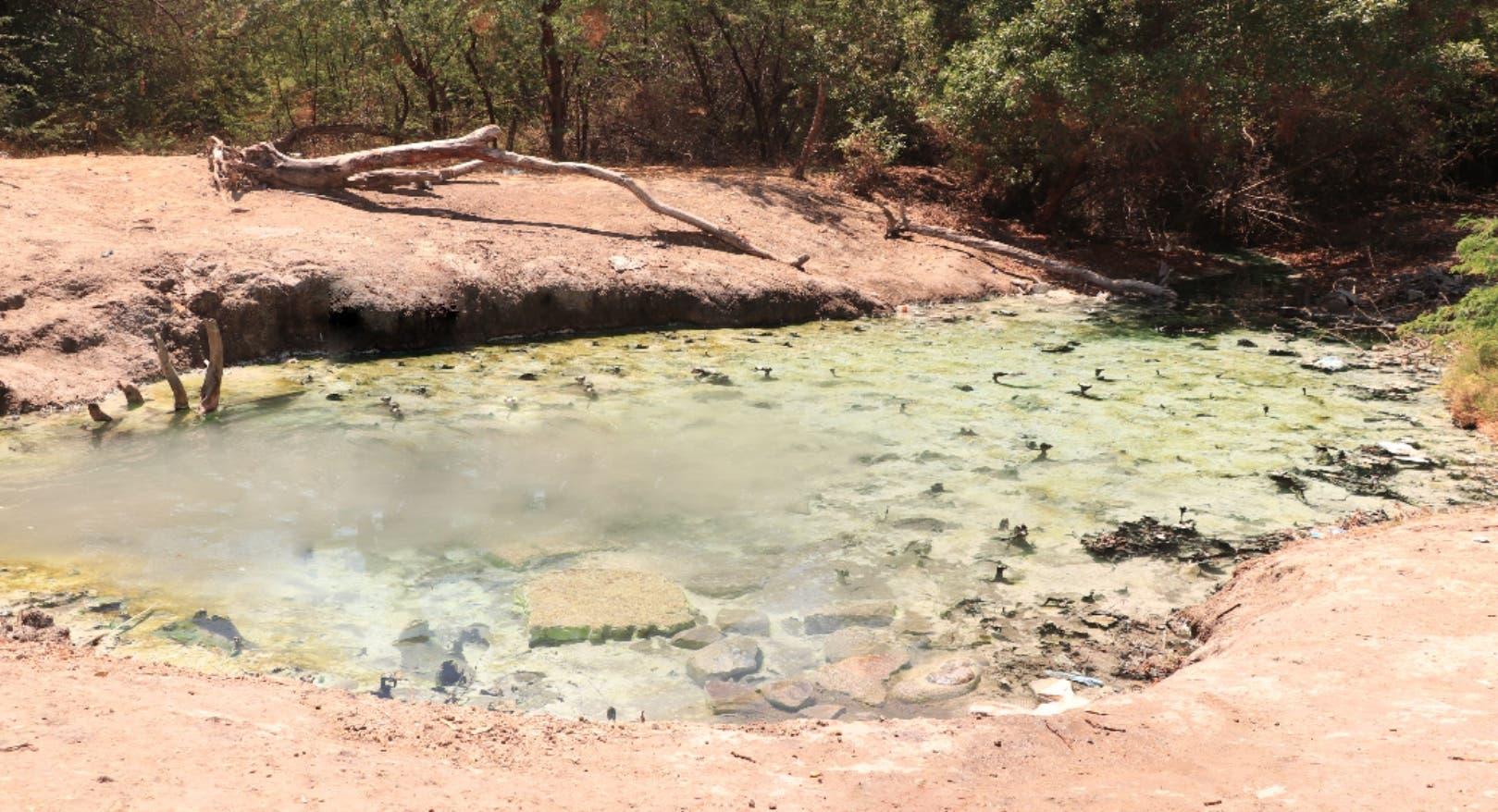 En el país se registran aguas termales en la zona sur, pero de forma tímida, con temperaturas  de 37 grados Celsius.  AGENCIA
