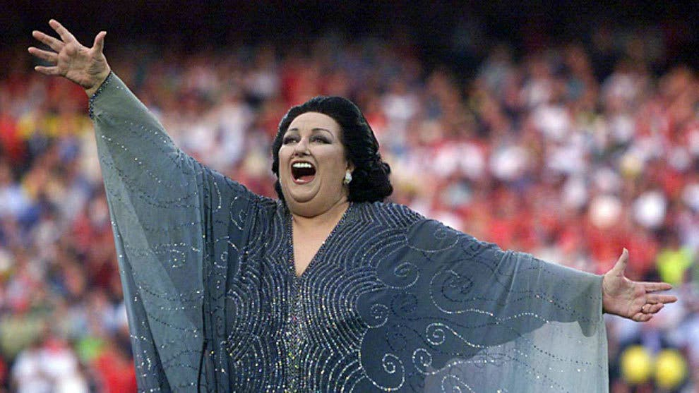 La lírica italiana lamenta la muerte de Montserrat Caballé