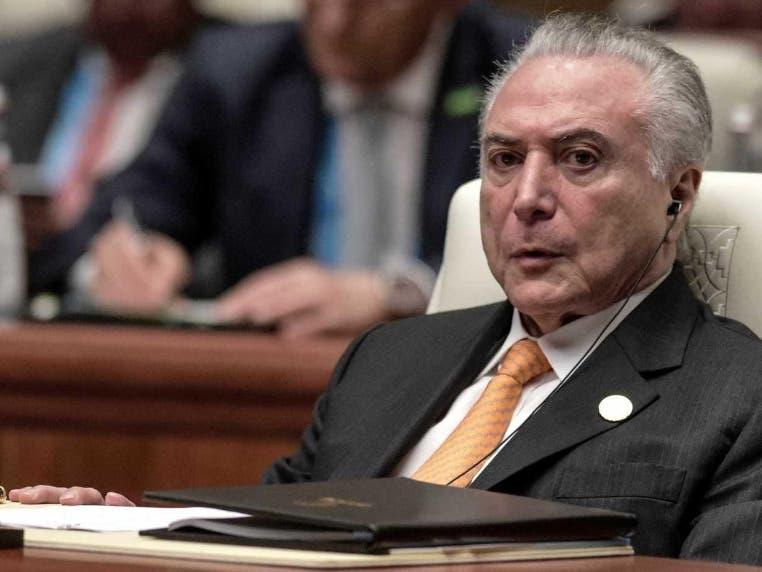 El presidente Michel Temer entregará la Presidencia de la República luego de los comicios del 28 de  octubre.