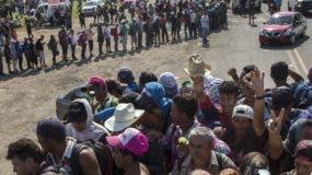 Migrantes mantienen su plan   de llegar a los Estados Unidos.