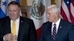 Mike Pence quiere más apoyo de Centroamérica.