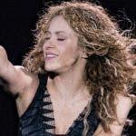 La artista Shakira durante su actuación en Punta Cana.