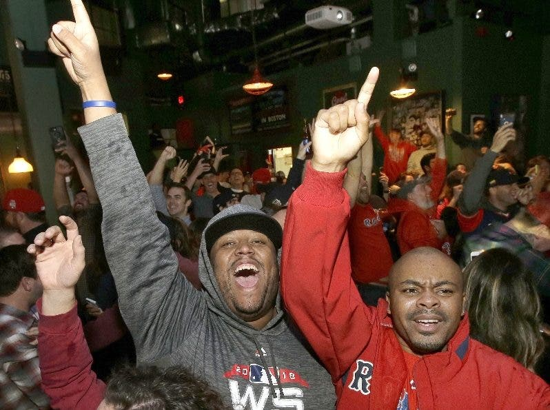 Los seguidores de Boston celebran desde el pasado domingo.