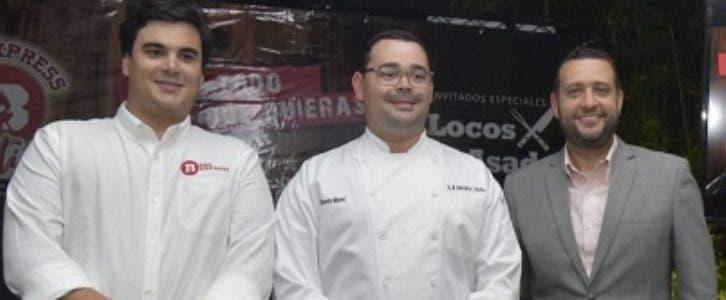 Ricardo Grullón, Alberto Morel y Osvaldo Villalona.