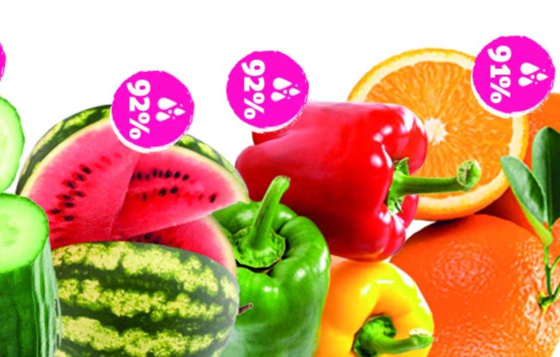 Cuáles son las frutas y vegetales que más hidratan