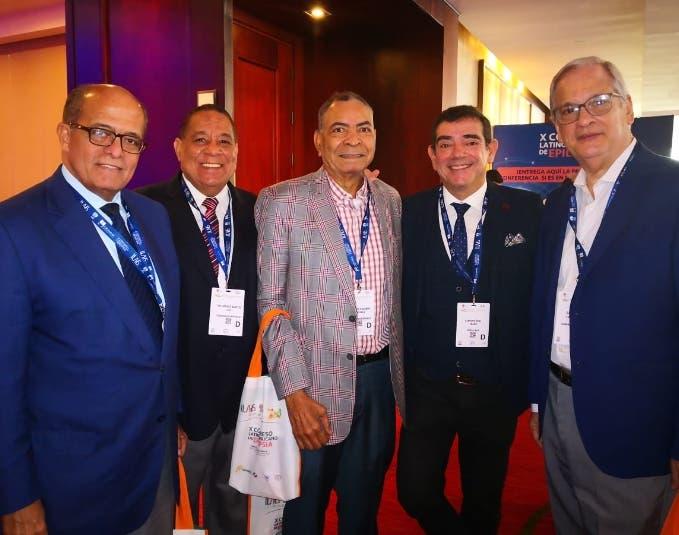 José Silié Ruiz,  Luis Pichardo, Diógenes Santos, Frank Chávez y Enrique Cantizano.
