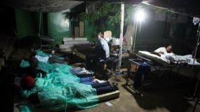 La mayoría de las víctimas del seísmo se registraron en Port-de-Paix