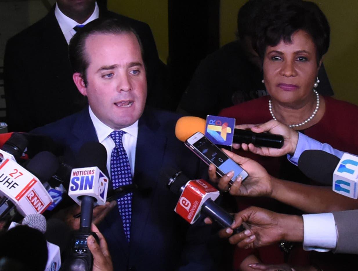 Paliza, presidente PRM, aclara Abinader convocó protesta a título personal