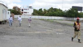 Terrenos donde se proyecta  la terminal en la avenida Las Américas.  Jose de Leon.
