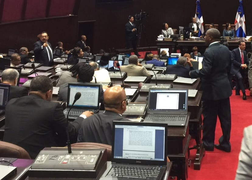 Sesión de la cámara de diputados. Fuente externa 17/07/2018