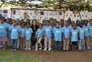 Hogar de Niños Barahona, beneficiario  jalao de miel.