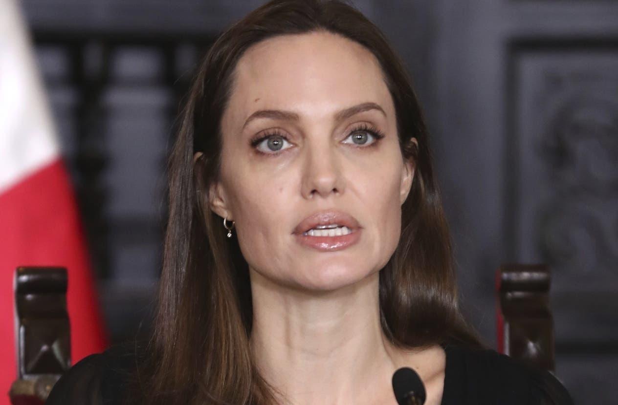 La actriz estadounidense Angelina Jolie.