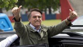 Jair Bolsonaro. AP