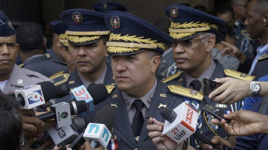 El director de la Policía, mayor general Ney Aldrin Bautista Almonte. Foto de archivo.