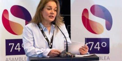 María Elvira Domínguez, nueva presidenta de la SIP.