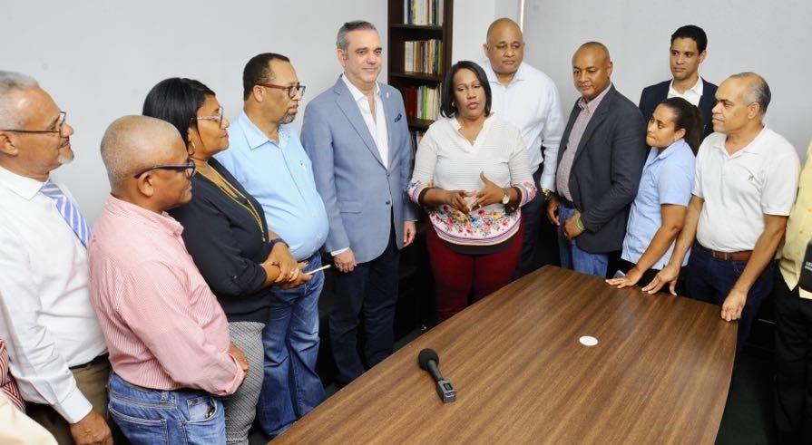 """Abinader """"triunfo de Xiomara Guante en la ADP, es reflejo del deseo de cambio de los dominicanos»"""