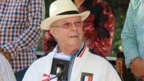 Hipólito Mejía, expresidente de la República.