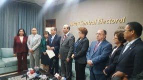 PLD entregó  a la JCE notificación de primarias
