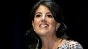 """Lewinsky dijo que ahora será conocida como: """"Monica Chunky Slut Stalker That Woman Lewinsky"""" (Monica Fornida Zorra Acosadora Esa Mujer Lewinsky)."""
