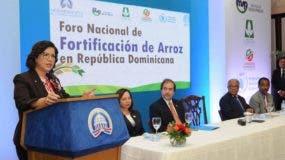 Margarita cedeño dijo que  la falta de micronutrientes produce impactos negativos.