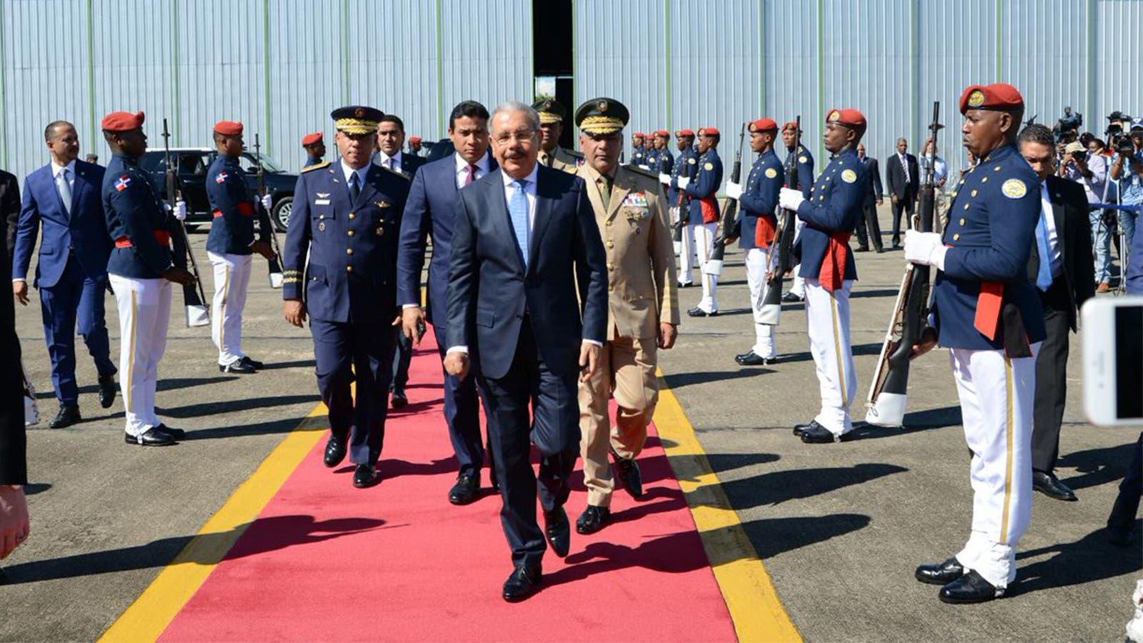 El presidente Danilo Medina sale mañana a México