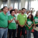 Dirigentes de Marcha Verde. Archivo