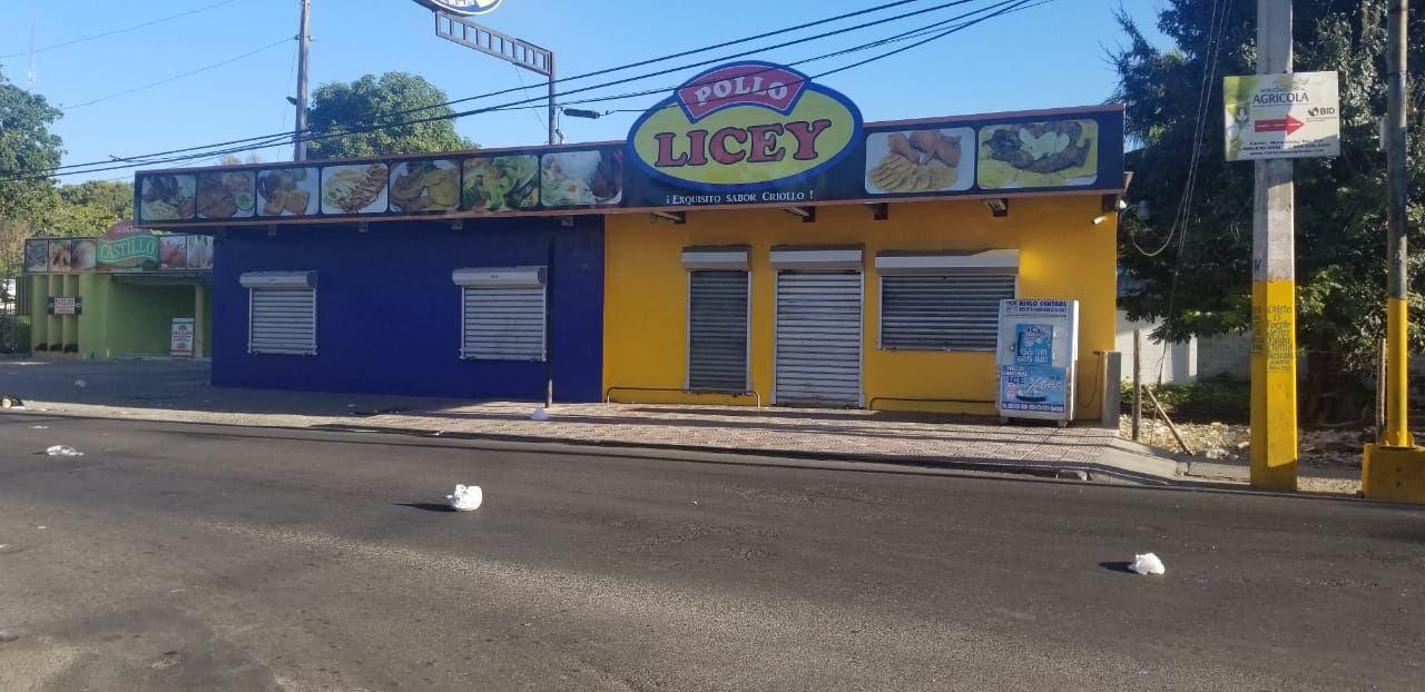 6. El comercio total mente nulo en el municipio de Licey al medio y la parte baja de Moca