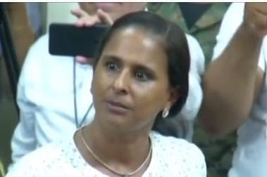 Adalgisa Polanco, madre de la adolescente Emely Peguero.