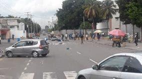Disturbios en la UASD.