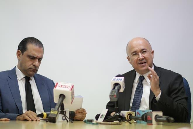 Servio Tulio Castaños y Francisco Domínguez Brito