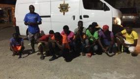 Los haitianos fueron detenidos en Jimaní.