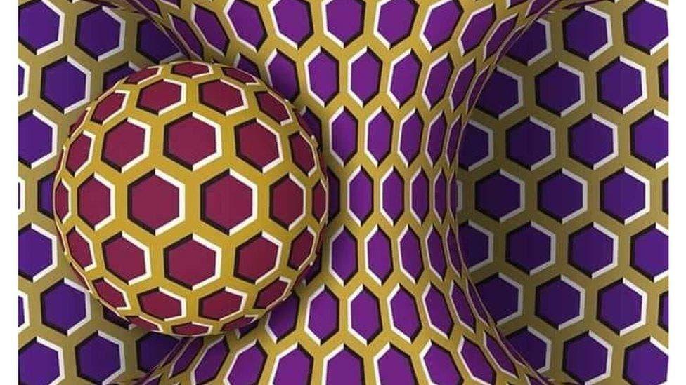 El extraño efecto óptico que desconcierta a internet: ¿se mueve esta imagen?